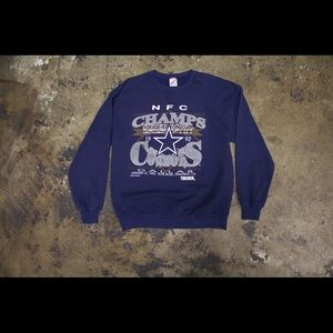 Other - 92' Vintage Cowboys Crew Neck